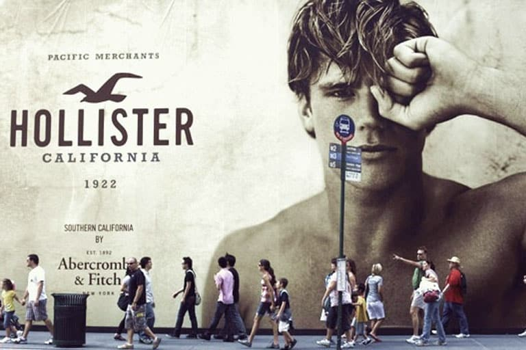 Hollister Billboard Ad