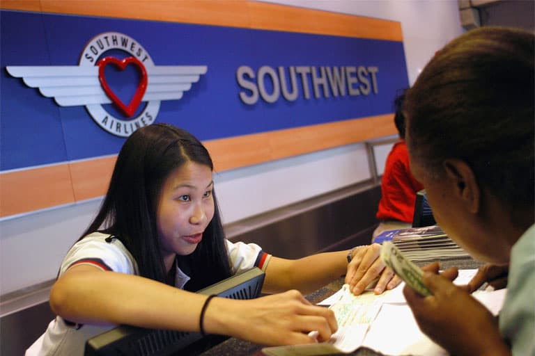 booking a flight on southwest airlines