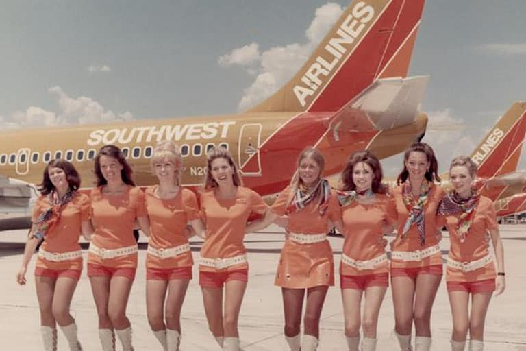 flight attendants of southwest airlines