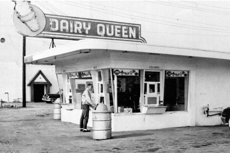 image of Dairy Queen when it was founded