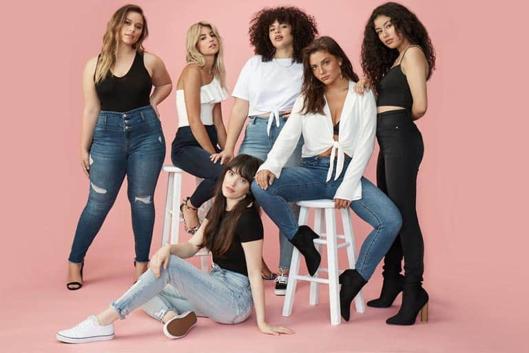 women posing for a pictorial wearing charlotte russe newest design of clothes